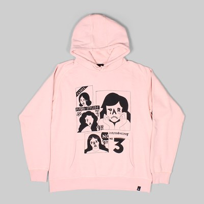 BY PARRA PERMA STYLED HOODY PINK