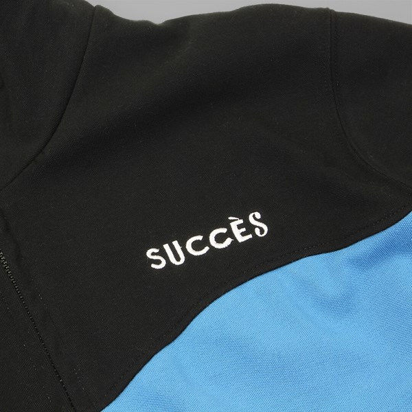 BY PARRA SUCCES TRACK TOP JACKET BLACK