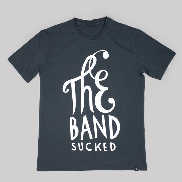 BY PARRA THE BAND SUCKED TEE BLACK