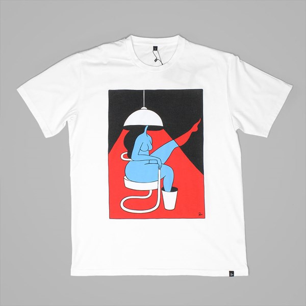 BY PARRA THE LIVING ROOM T-SHIRT WHITE