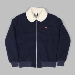 BY PARRA TOPPER HARLEY WOOL JACKET DARK NAVY