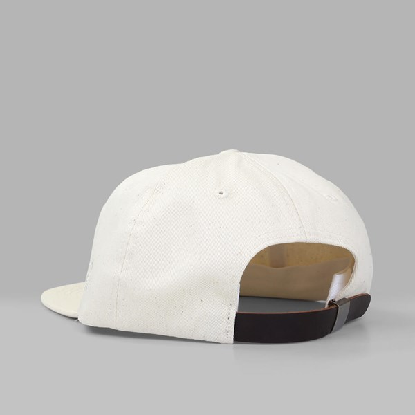 BY PARRA 'TOY LOGO' 6 PANEL CAP OFF WHITE