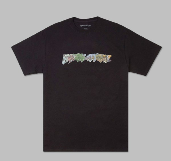 FUCKING AWESOME BATTLEFIELD TEE BLACK