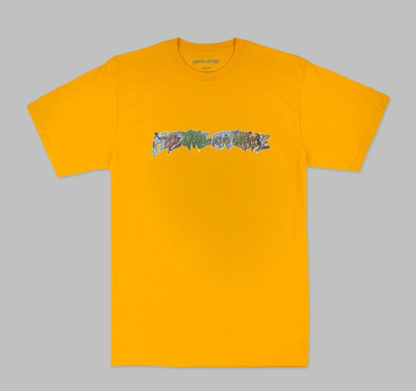 FUCKING AWESOME BATTLEFIELD TEE GOLD