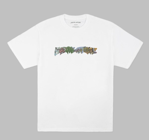 FUCKING AWESOME BATTLEFIELD TEE WHITE