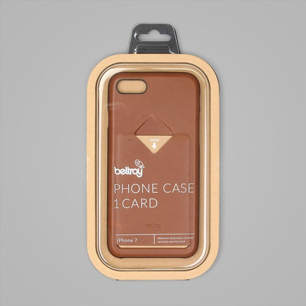 Bellroy iPhone 7 Phone Case (1 Card) Caramel