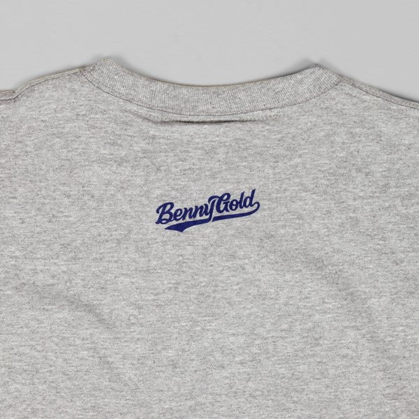 Benny Gold Pennant T Shirt Heather Grey