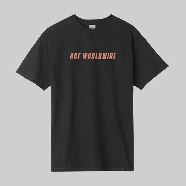 HUF BLACKED OUT SS T-SHIRT BLACK