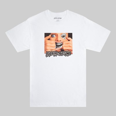 FUCKING AWESOME BRACE FACE SS T-SHIRT WHITE