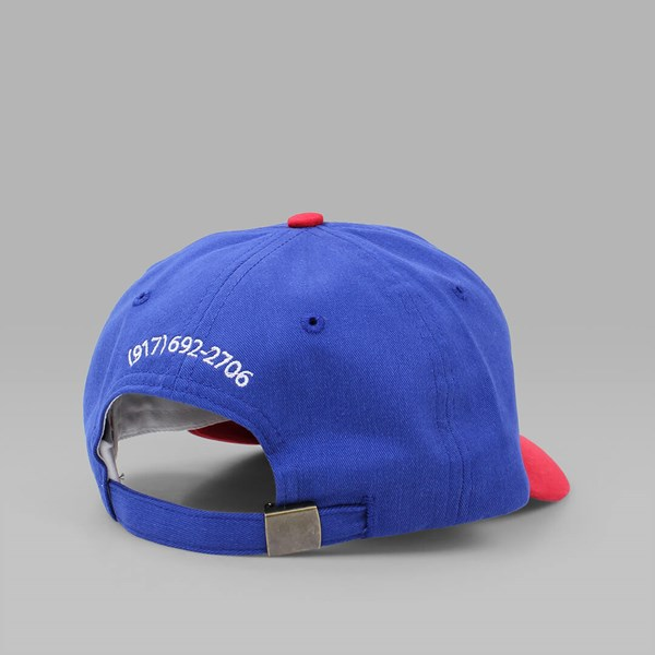 CALL ME 917 'CALL ME' CAP BLUE RED