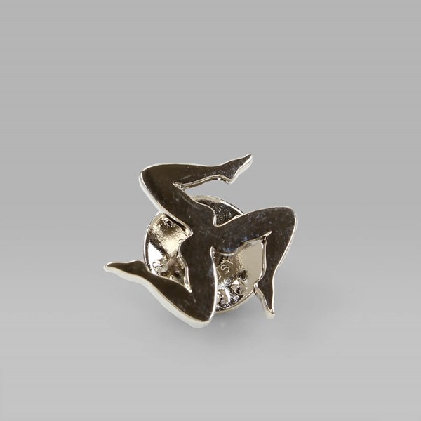 CALL ME 917 'LEGS' PIN BADGE SILVER