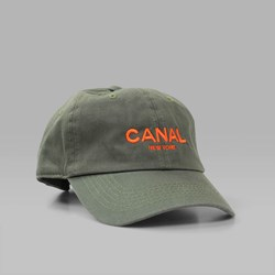CANAL ADULT HEADWEAR CAP OLIVE ORANGE