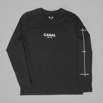 CANAL NEW YORK FILM FESTIVAL LS TEE BLACK