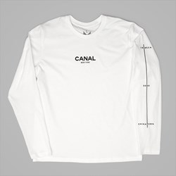 CANAL NEW YORK FILM FESTIVAL LS TEE WHITE
