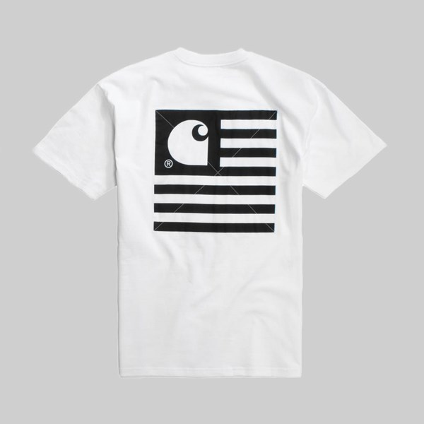 CARHARTT STATE PATCH SS T-SHIRT WHITE