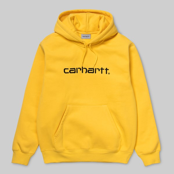 CARHARTT HOODED SWEAT PRIMULA BLACK