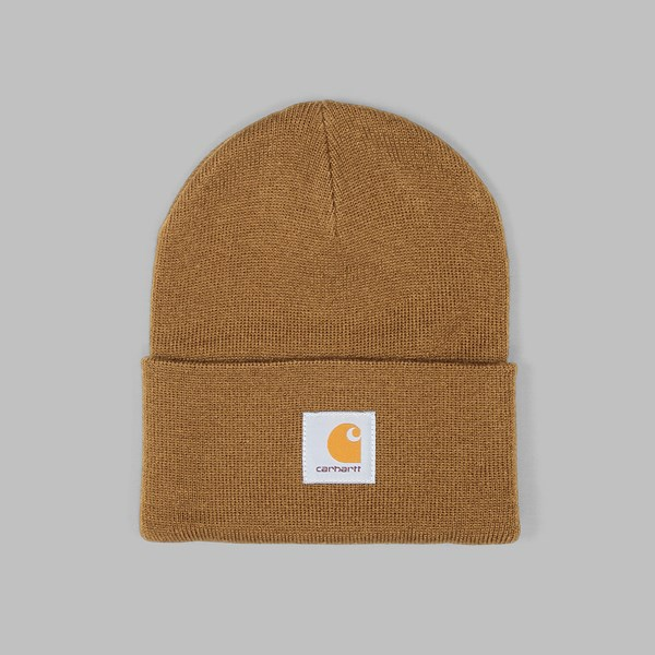 CARHARTT ACRYLIC WATCH HAT BEANIE HAMILTON BROWN