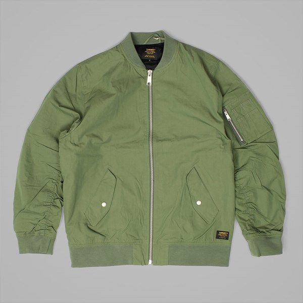 CARHARTT ADAMS JACKET DOLLAR GREEN