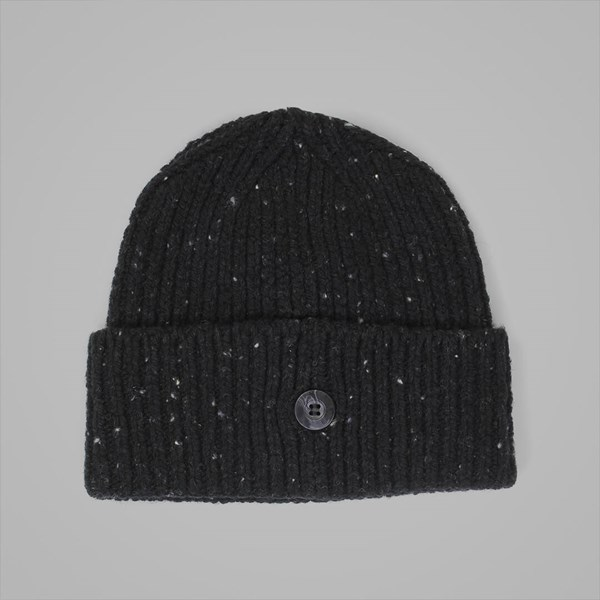 CARHARTT ANGILISTIC BEANIE BLACK HEATHER