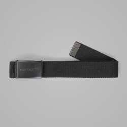 CARHARTT CANVAS CLIP BELT TONAL BLACK