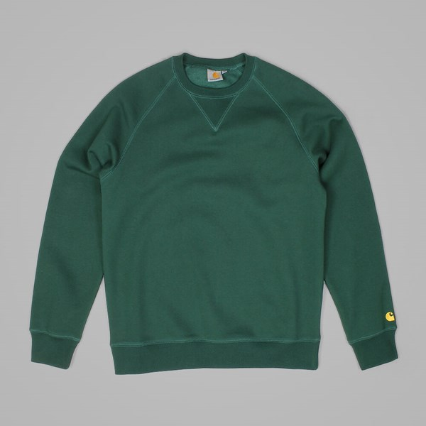 CARHARTT CHASE SWEATSHIRT CONIFER