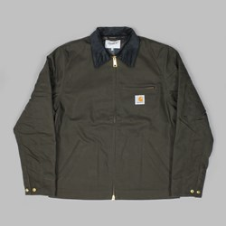 CARHARTT DETROIT DEARBORN CANVAS JACKET TOBACCO