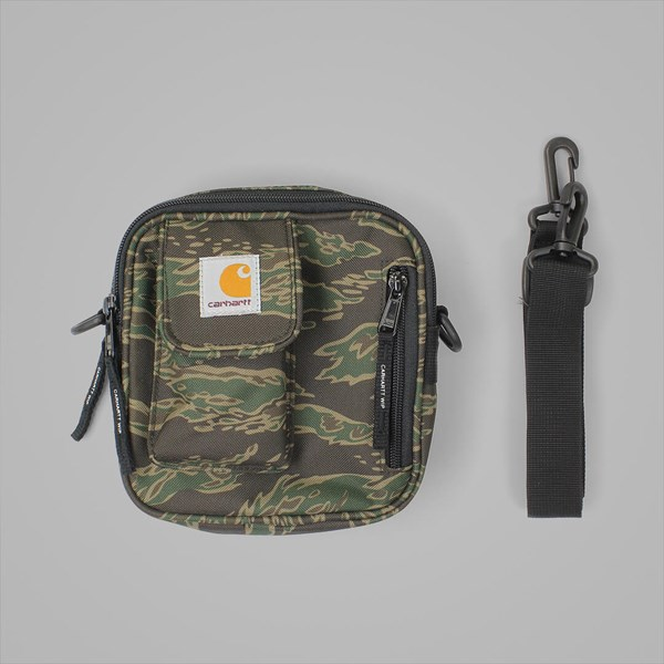 CARHARTT ESSENTIALS BAG SMALL TIGER LAUREL