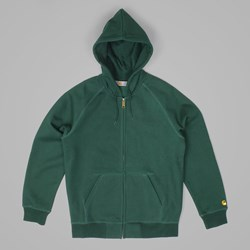 CARHARTT CHASE HOODED JACKET FIR-GOLD