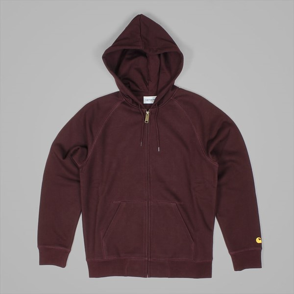 CARHARTT HOODED CHASE JACKET DAMSON