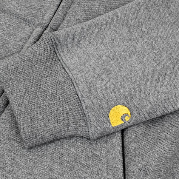 CARHARTT HOODED CHASE JACKET DARK GREY