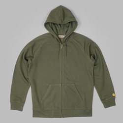 CARHARTT HOODED CHASE JACKET LEAF