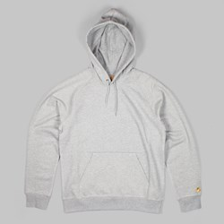 CARHARTT HOODED CHASE SWEAT GREY