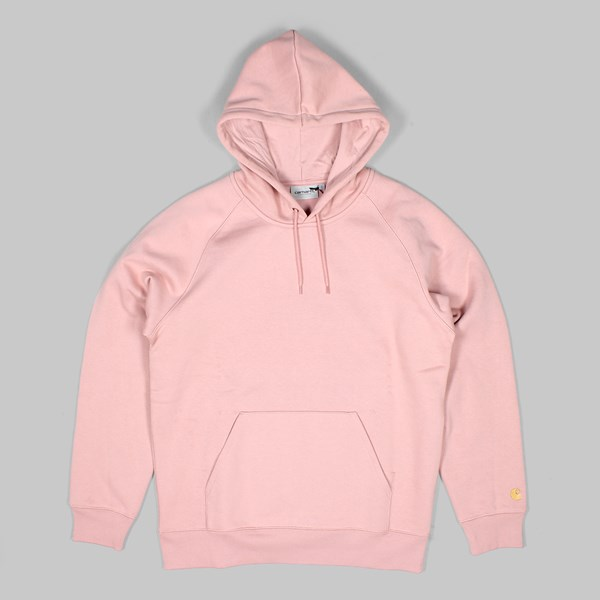 CARHARTT HOODED CHASE SWEAT SOFT ROSE GOLD