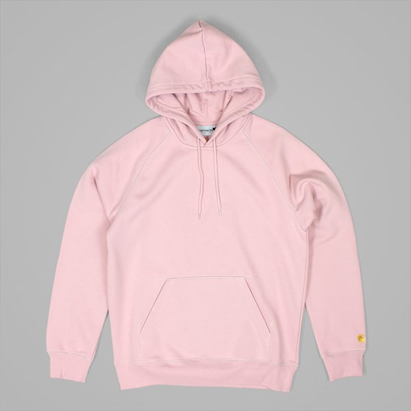 CARHARTT HOODED CHASE SWEAT SOFT ROSE