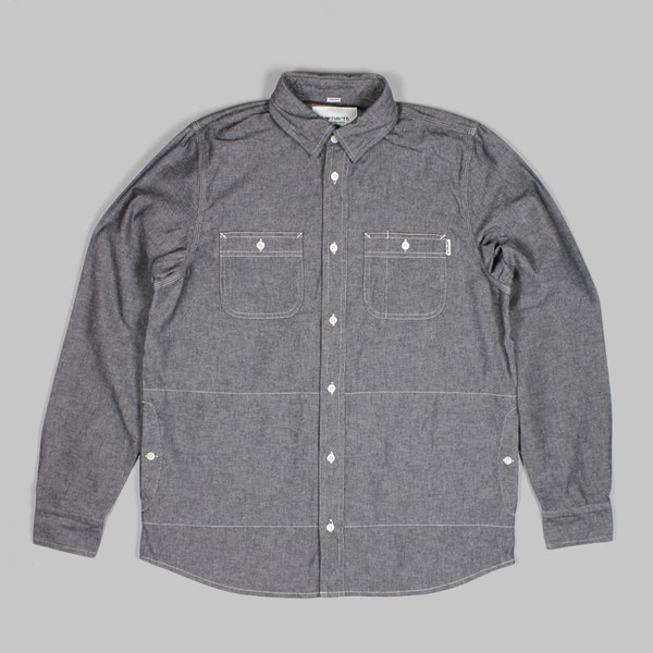 CARHARTT LS ALEX SHIRT BlACK RINSED