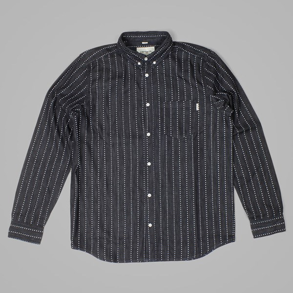 CARHARTT LS QUINCY HEART STRIPE SHIRT INDIGO