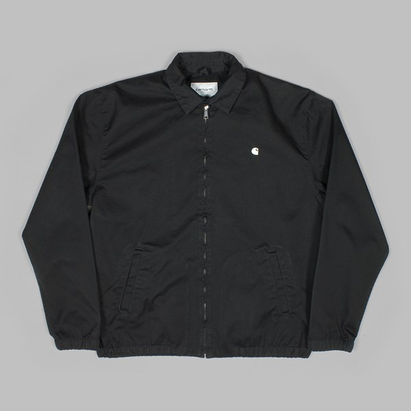 CARHARTT MADISON JACKET TWILL BLACK RINSED