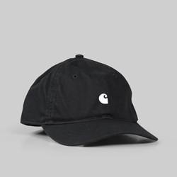 CARHARTT MADISON LOGO DAD CAP BLACK