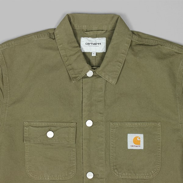CARHARTT MICHIGAN CHORE COAT ROVER GREEN