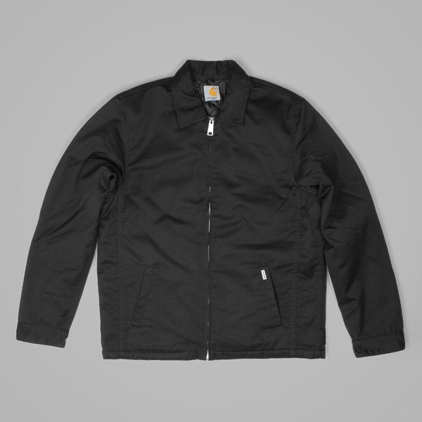 CARHARTT MODULAR JACKET BLACK RINSED
