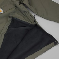 CARHARTT NIMBUS PULLOVER JACKET COATED CYPRESS