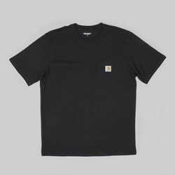 CARHARTT POCKET SS T-SHIRT BLACK