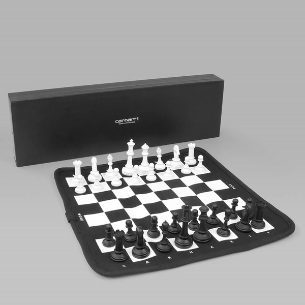 CARHARTT PORTABLE CHESS SET BLACK