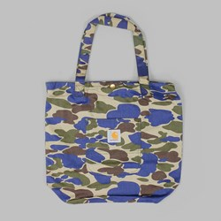 CARHARTT SIMPLE TOTE BAG COTTON ALABAMA CAMO