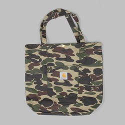 CARHARTT SIMPLE TOTE BAG HUBBARD CANVAS CAMO
