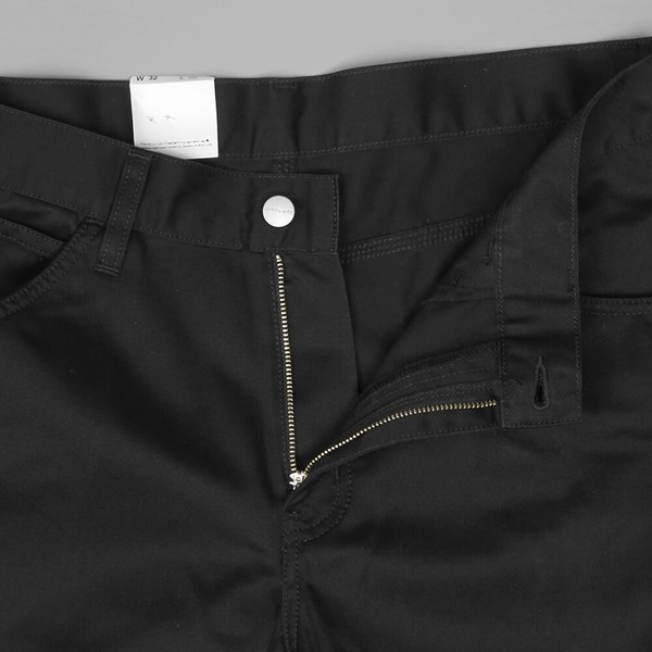 CARHARTT SKILL SHORT BLACK RINSED