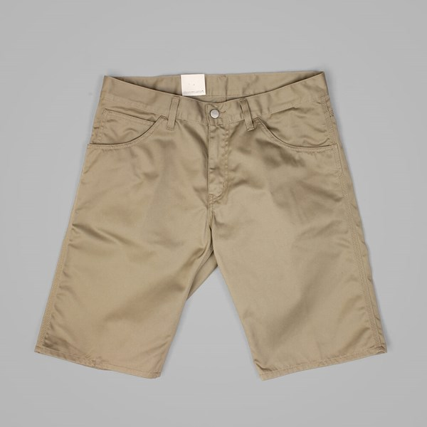 CARHARTT SKILL SHORT LEATHER RINSED