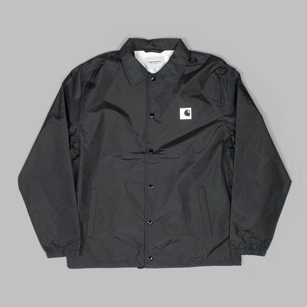 CARHARTT SPORTS JACKET BLACK WAX