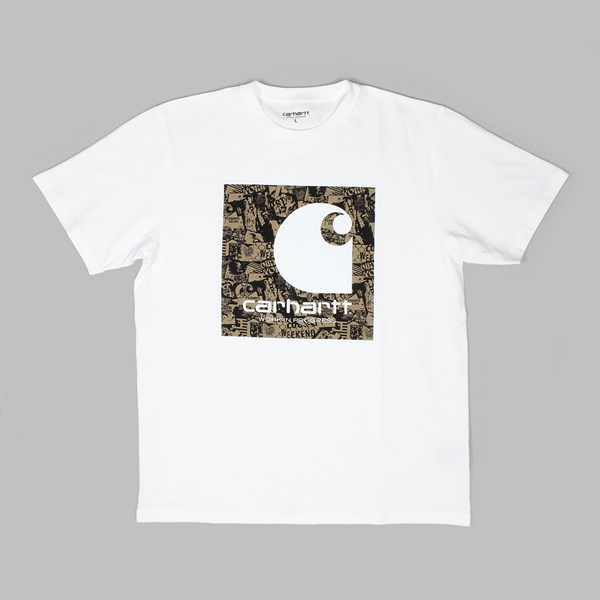 CARHARTT SS C COLLAGE T-SHIRT WHITE