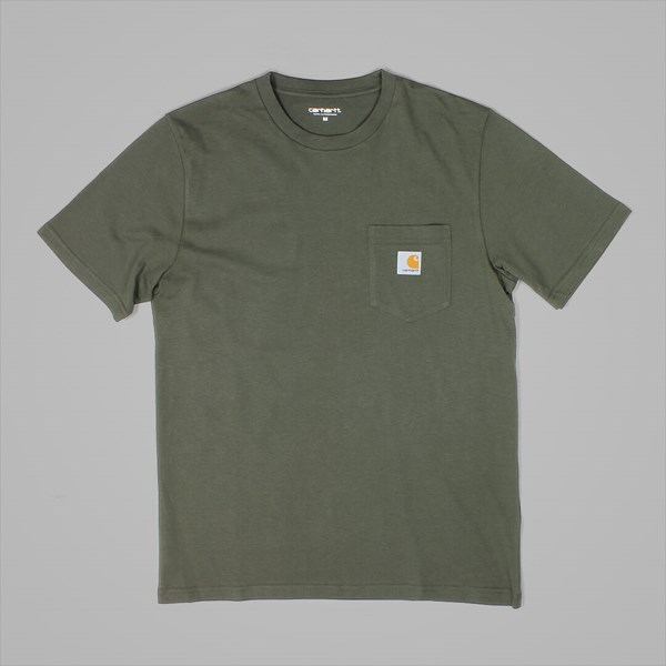 CARHARTT SS POCKET T-SHIRT CYPRESS